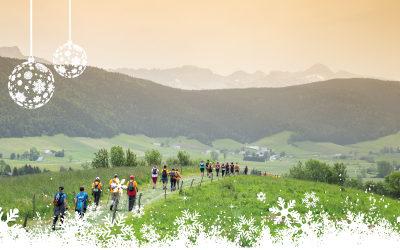 Pour Noël, offrez à vos proches leur participation à l'Euro NordicWalkin'Vercors !