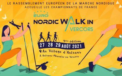 Les inscriptions en ligne pour l'Euro NordicWalkin'Vercors 2021 sont ouvertes !